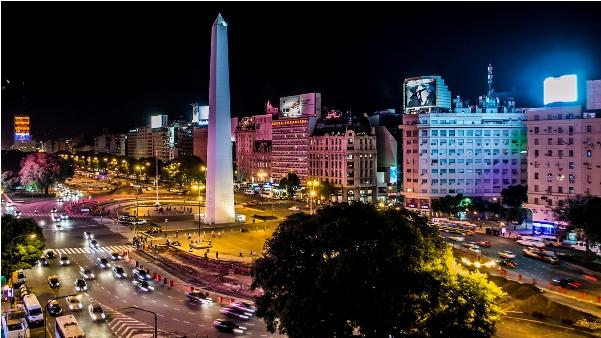 Vista de la Ciudad de Buenos Aires