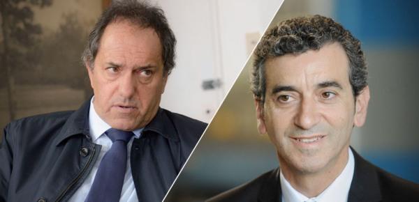 Daniel Scioli y Florencio Randazzo definirán la interna del FPV.
